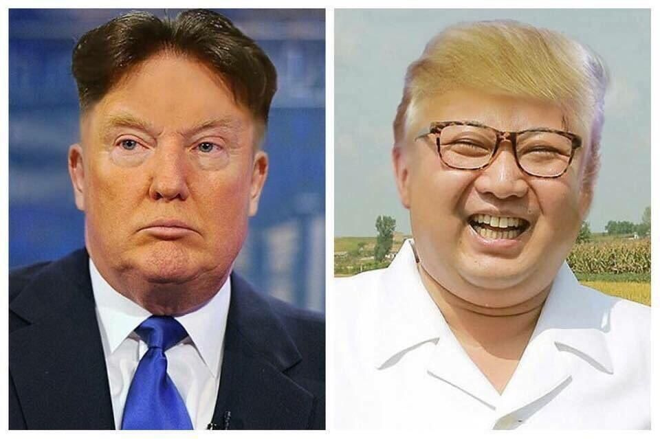 First there was the face swap, and now there is... THE HAIR SWAP.