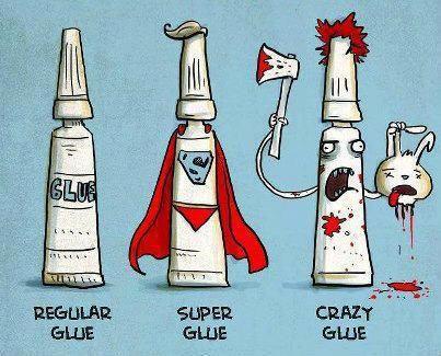 Classification of Glue