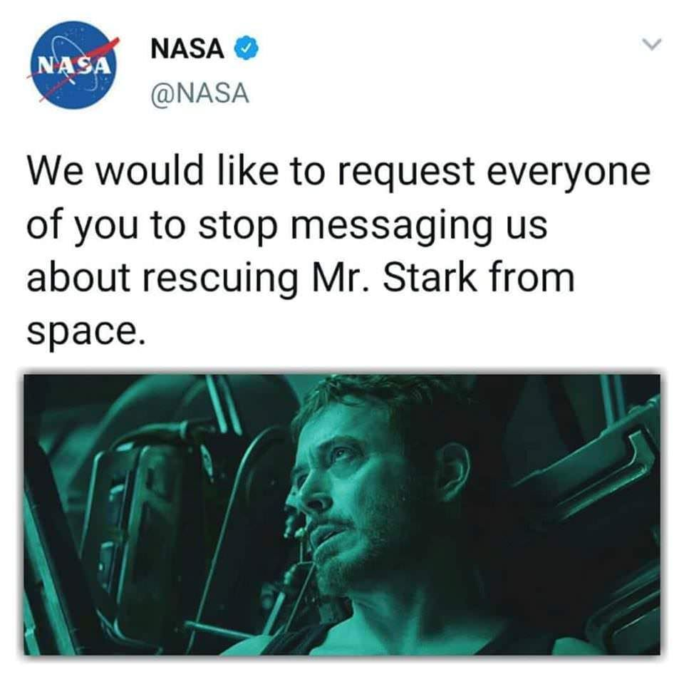 NASA request