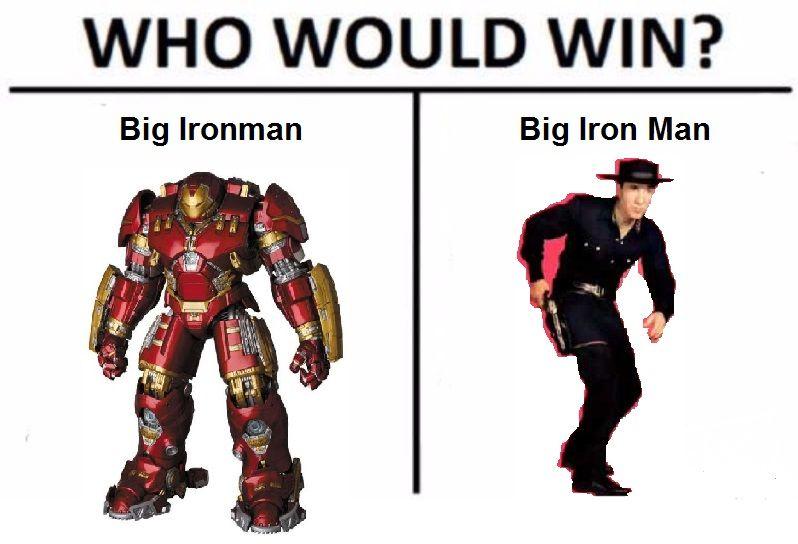 Big Iron Shitposting low effort OC