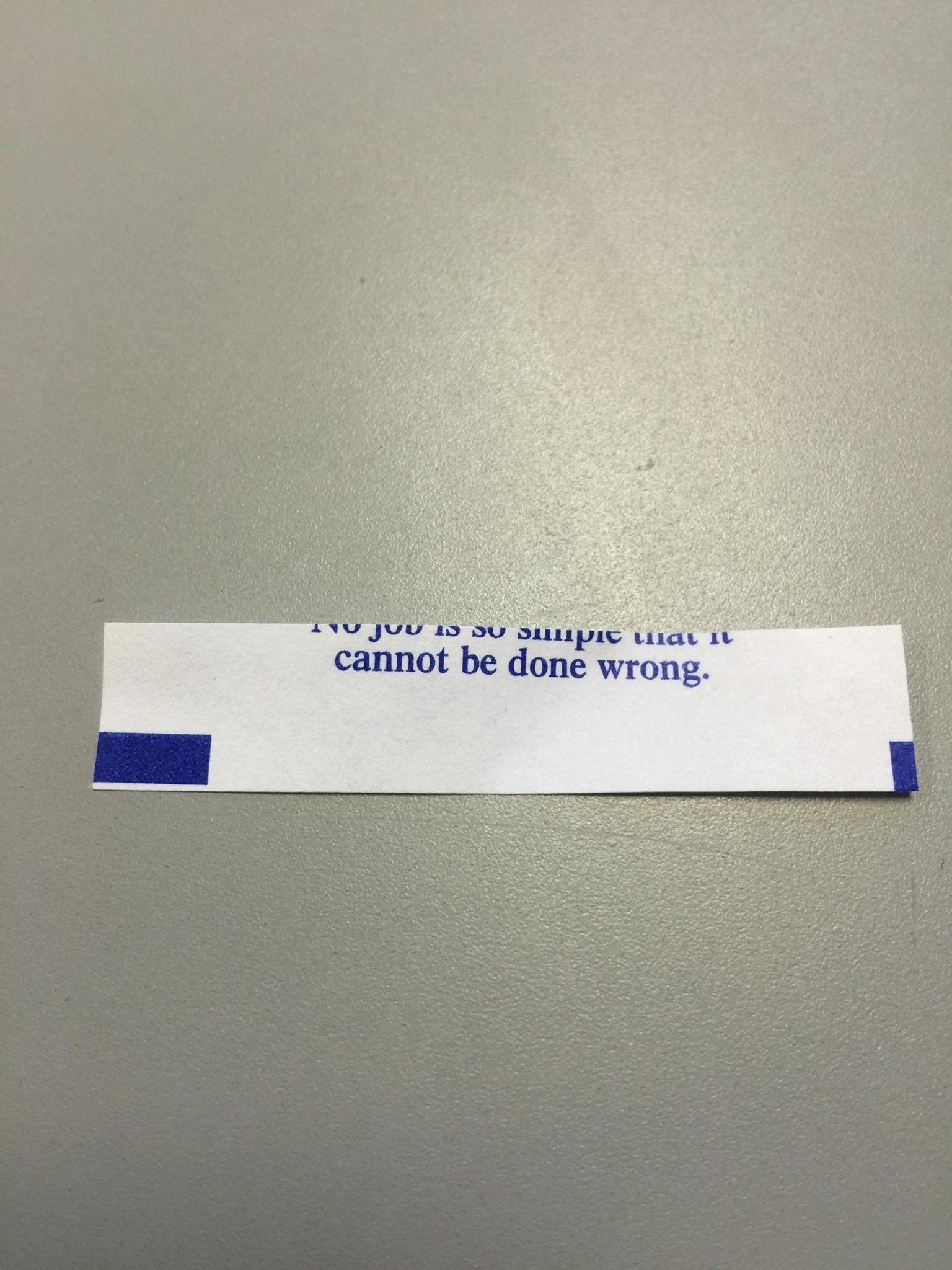 Mis-fortune