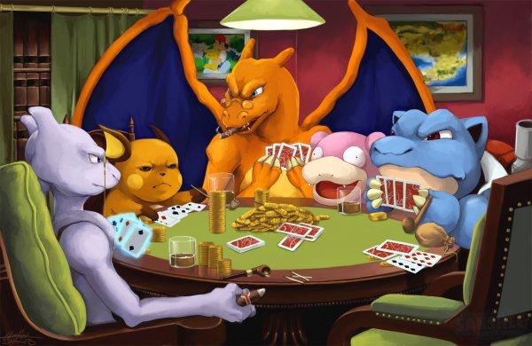 Pokemon poker night