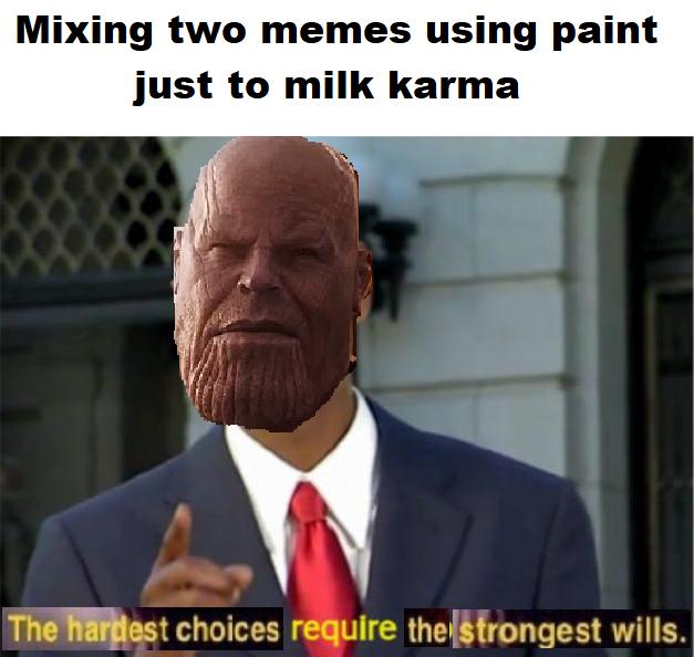 Modern memes require modern solutions