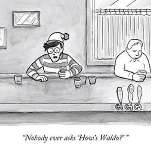 "Everybody always asks: ""Where is Waldo?"""