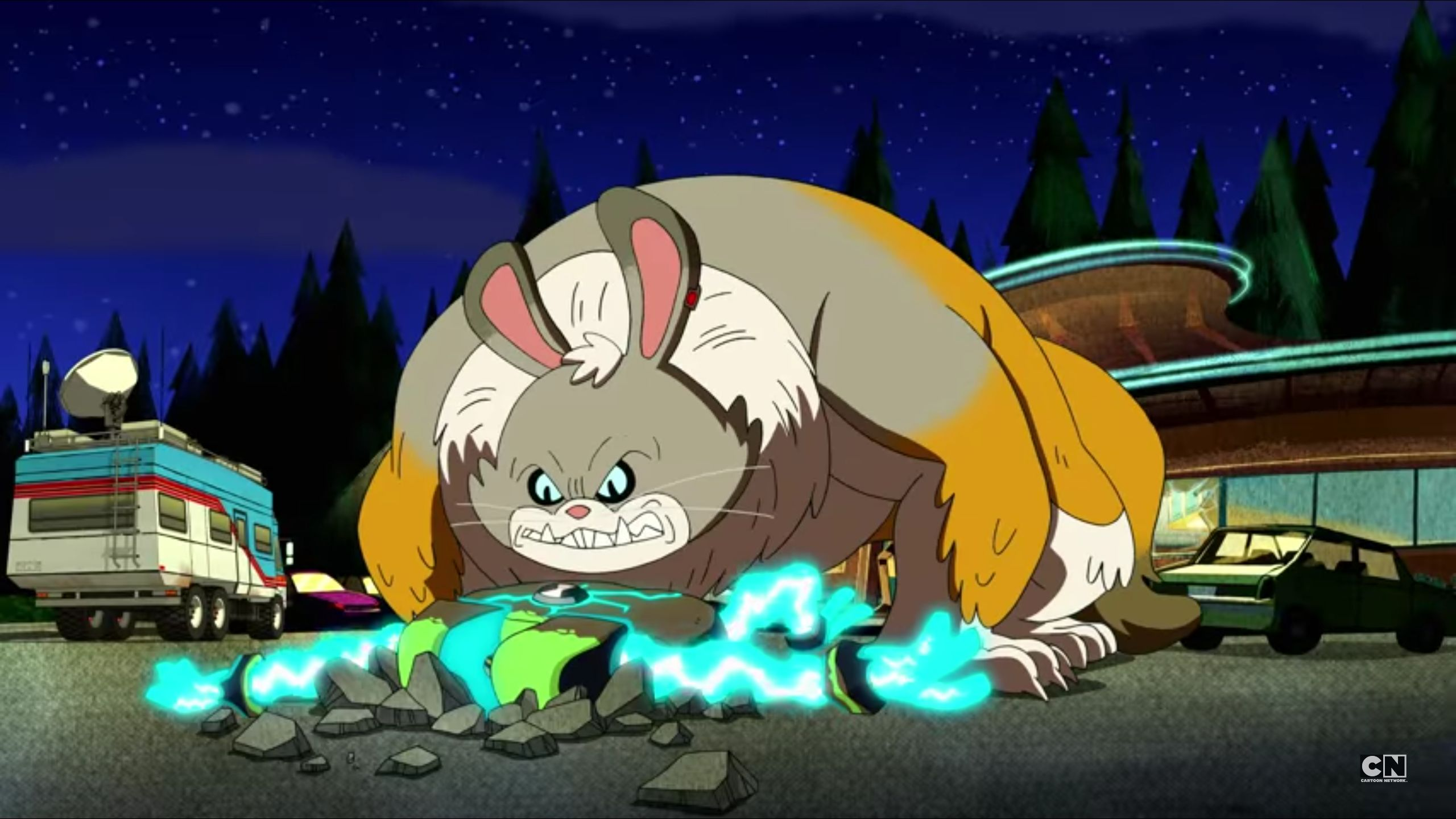 Big Chungus spotted again in Ben10 this morning