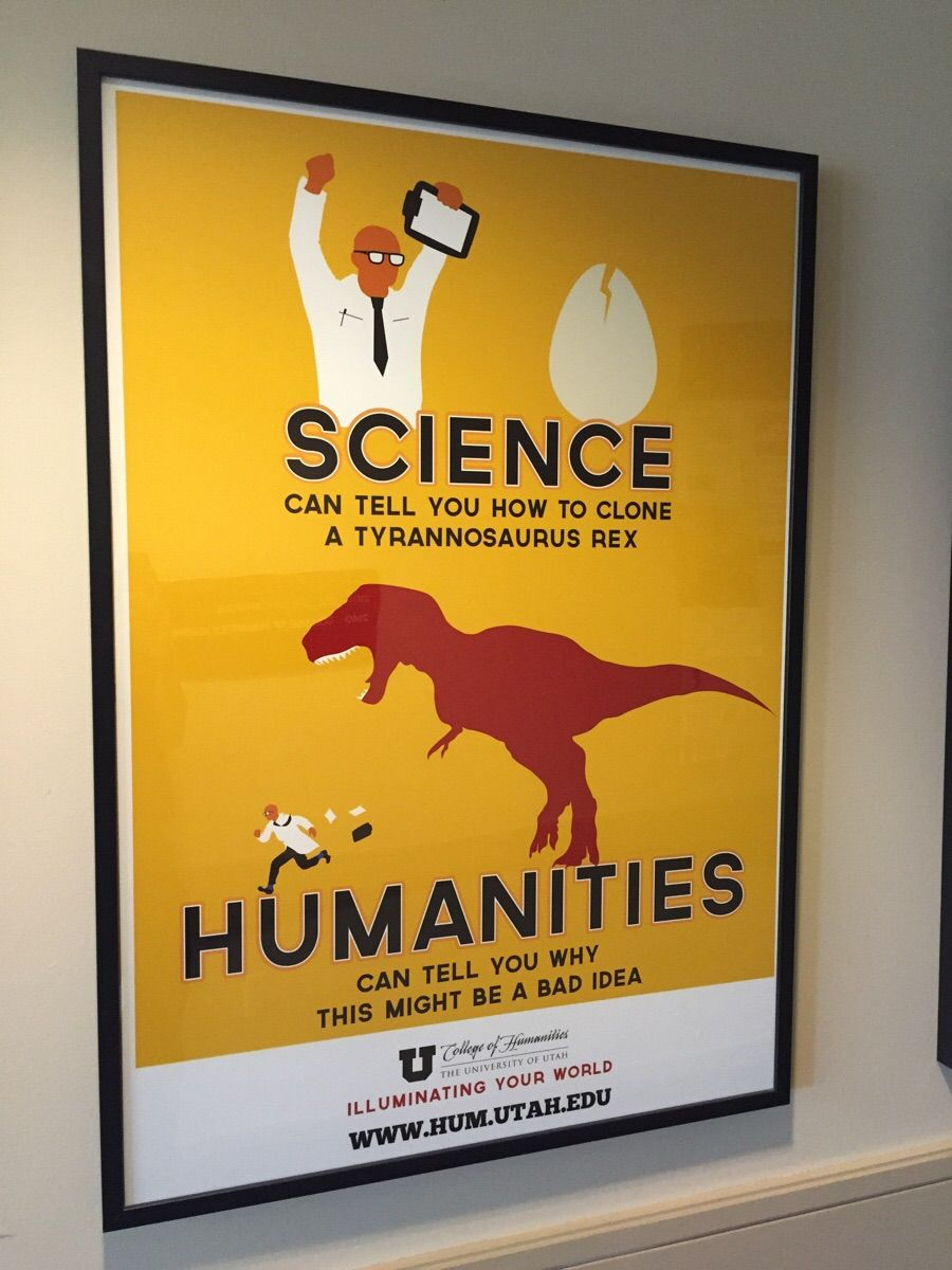 The difference between science and the humanities