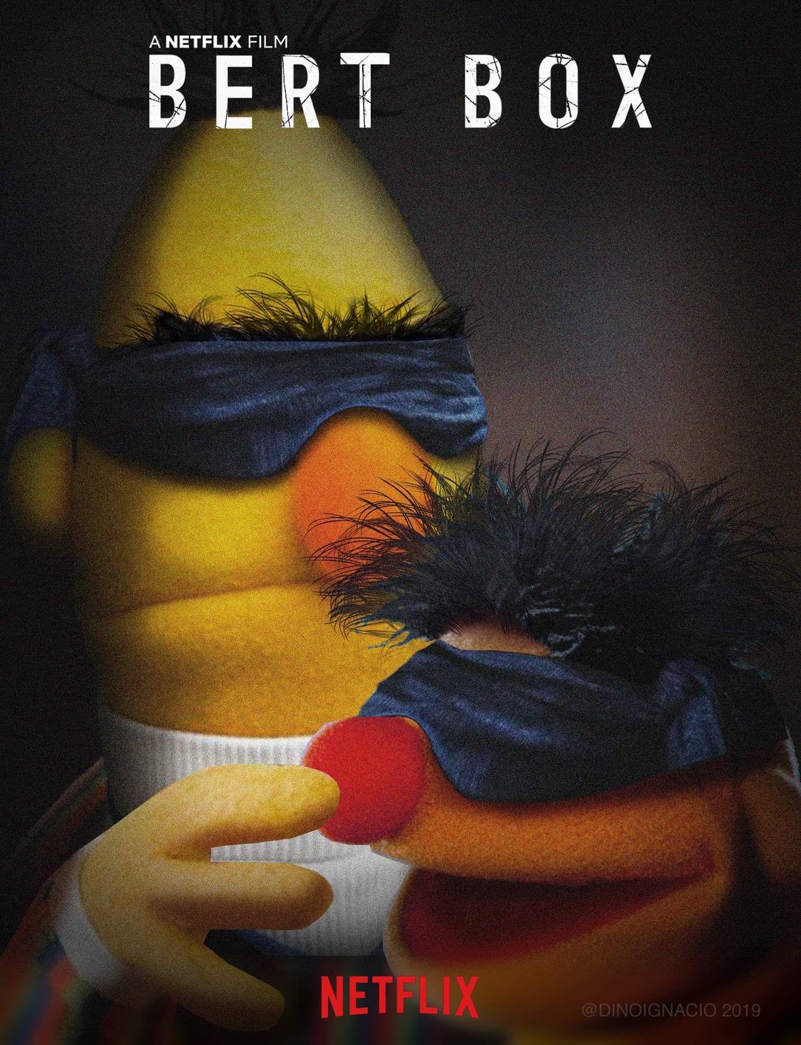 The next big movie: Bert box