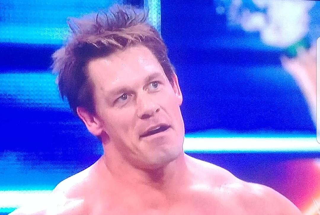 John Cena looks like Wreck it Ralph