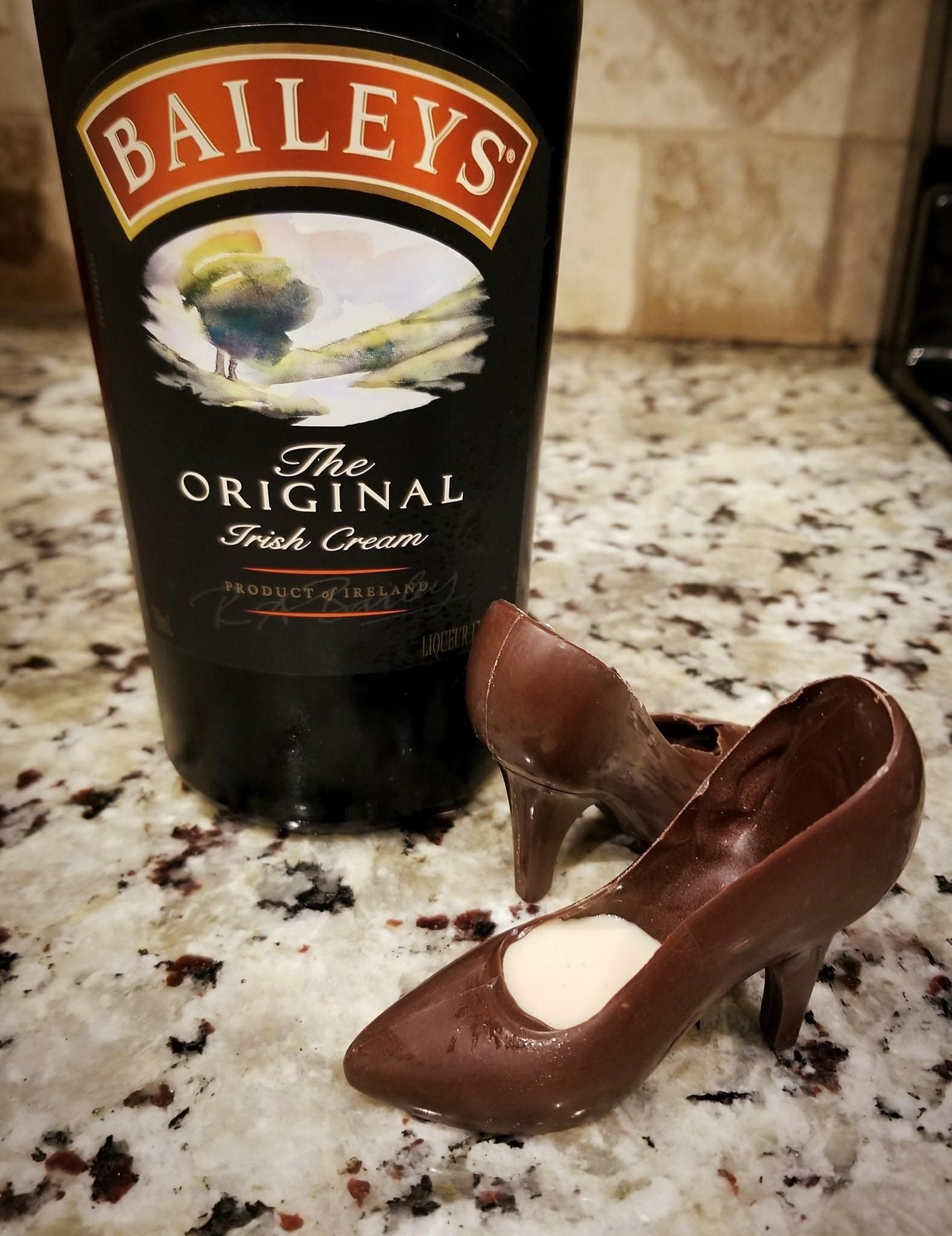 Ever drink Baileys from a shoe?