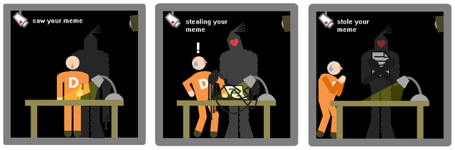 Stealing memes is now an SCP, and everybody who does it gets
