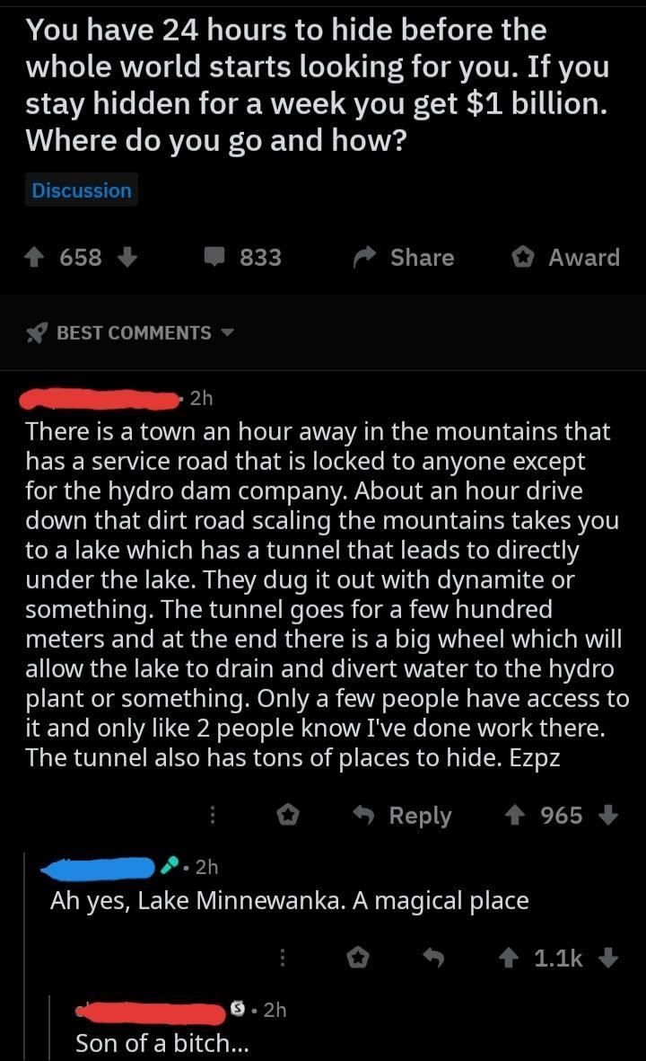 Very Secret Location