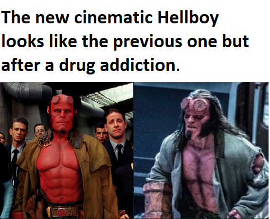 The new Hellboy movie.