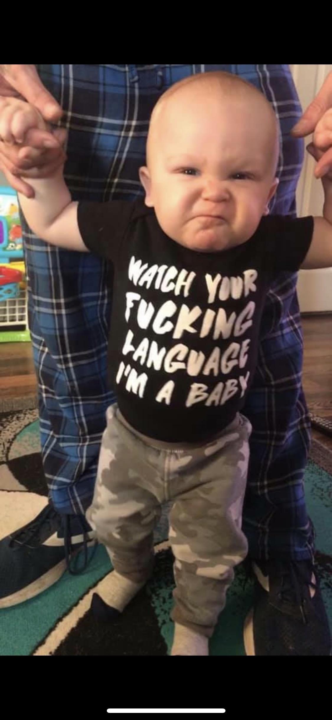 Cousin got a new shirt today