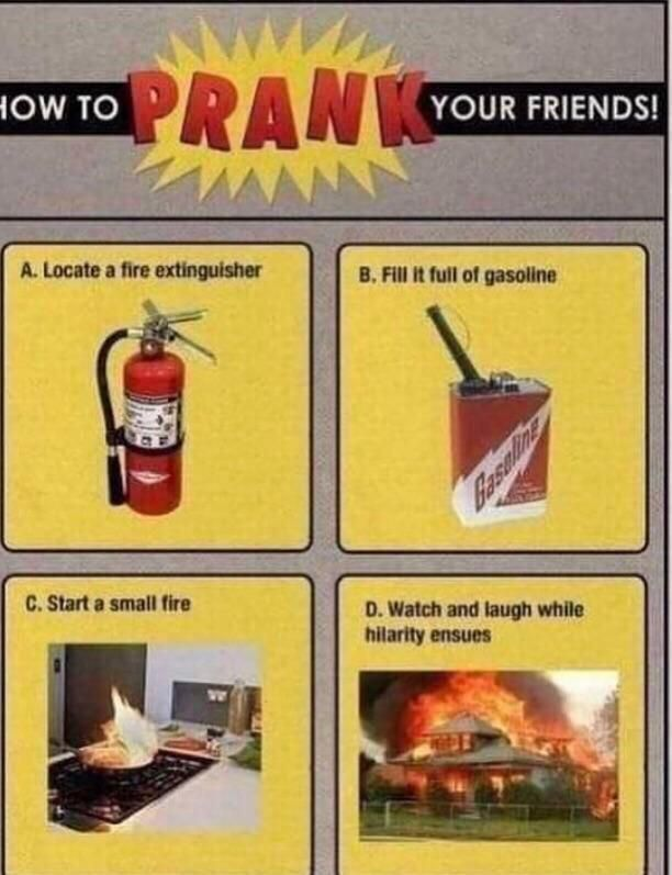 Best pranks you can pull to your friends and family