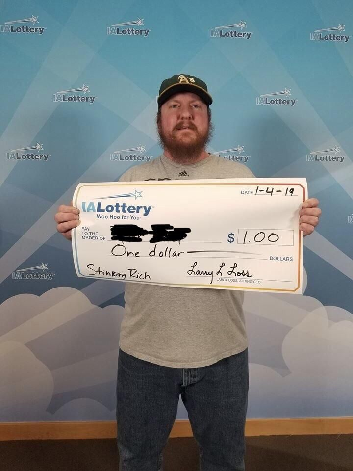 A friend went by the state lottery office with a winning scratch off ticket and told them he'd like one of those bigass ceremonial checks as payment.