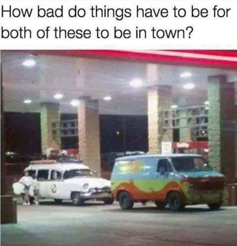 Who you gonna call? Those meddling kids!!!