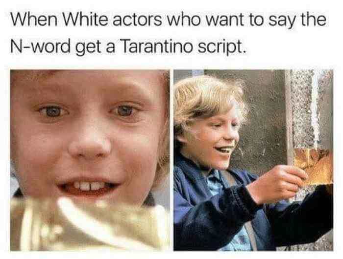 I can think of 216000 people who'd want to be on a Tarantino movie RN