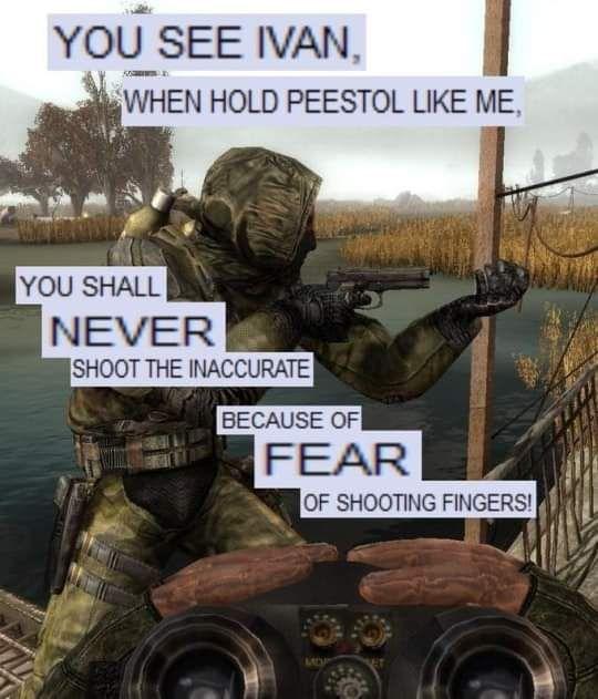 Ivan the sharpshooter