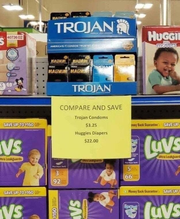 Compare and save.