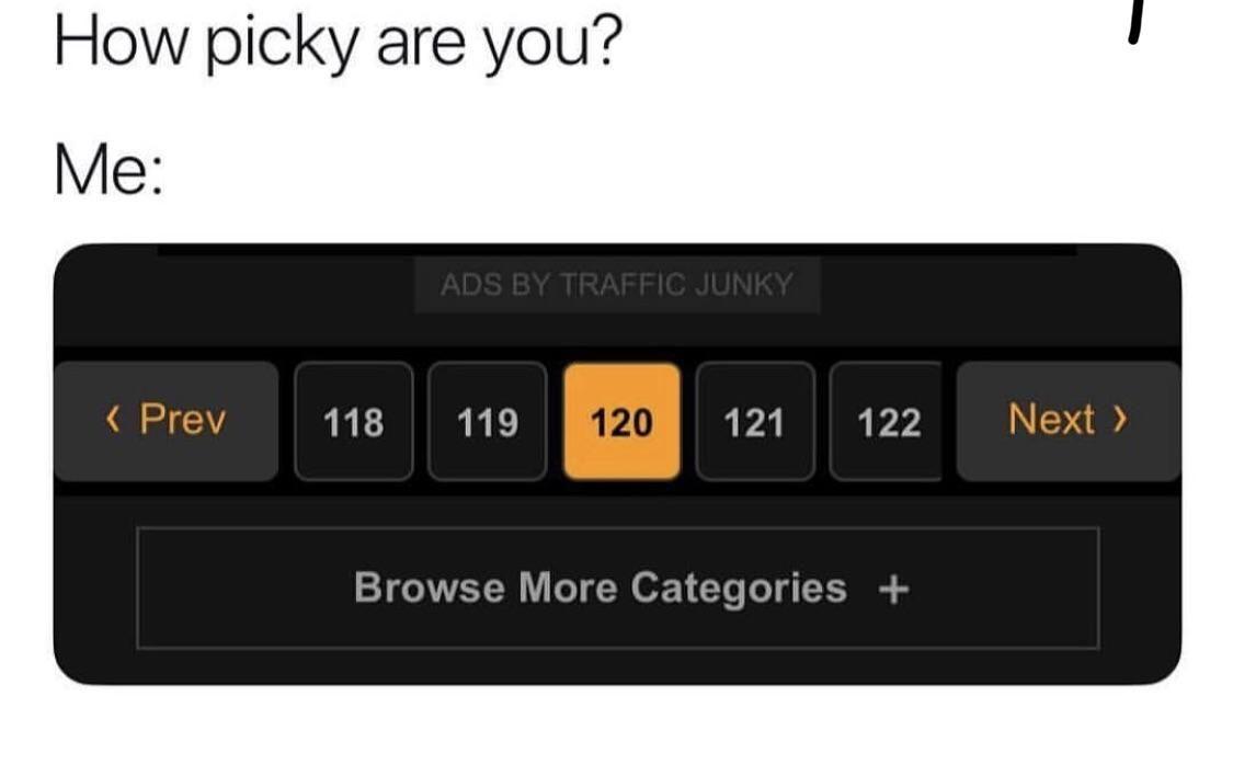 Picky?
