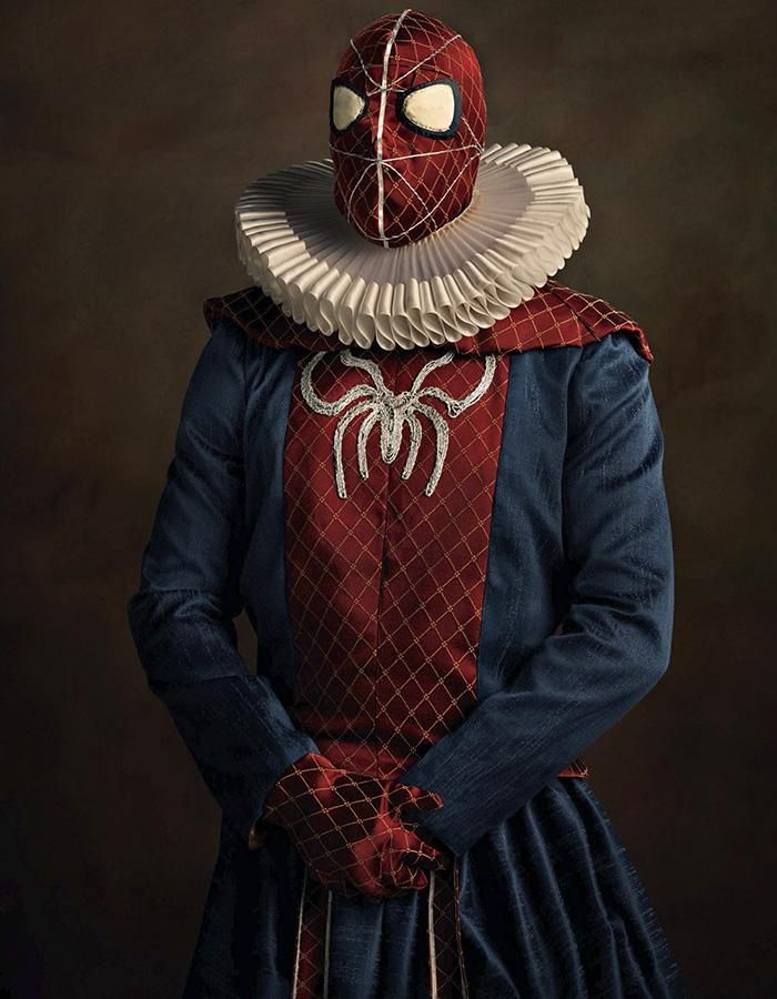 Spidey as a 16th Century Painting