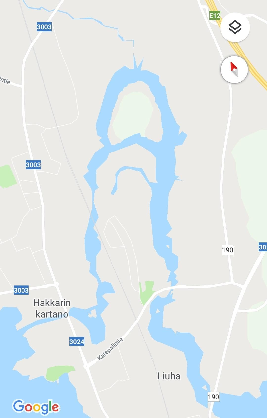 Just a reminder, this river actually exists in Finland.