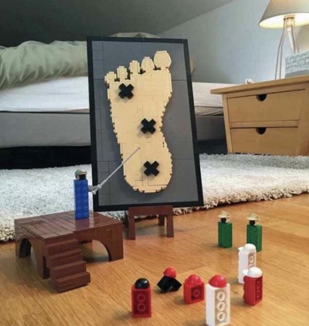 What legos do when we are not looking...