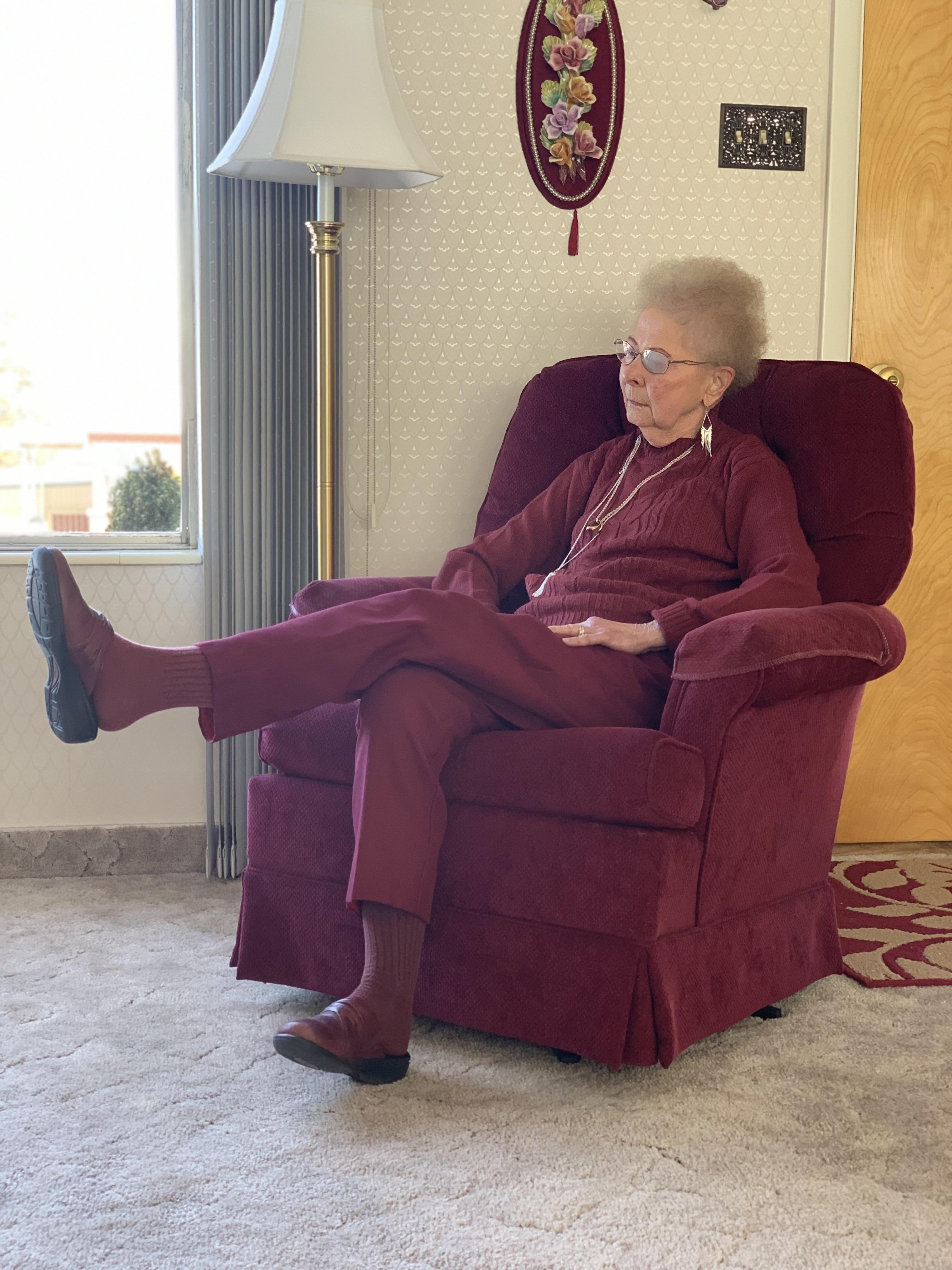 Sometimes we lose my grandma