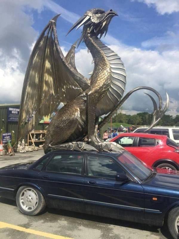 Quite An Inconspicuous Car Ornament