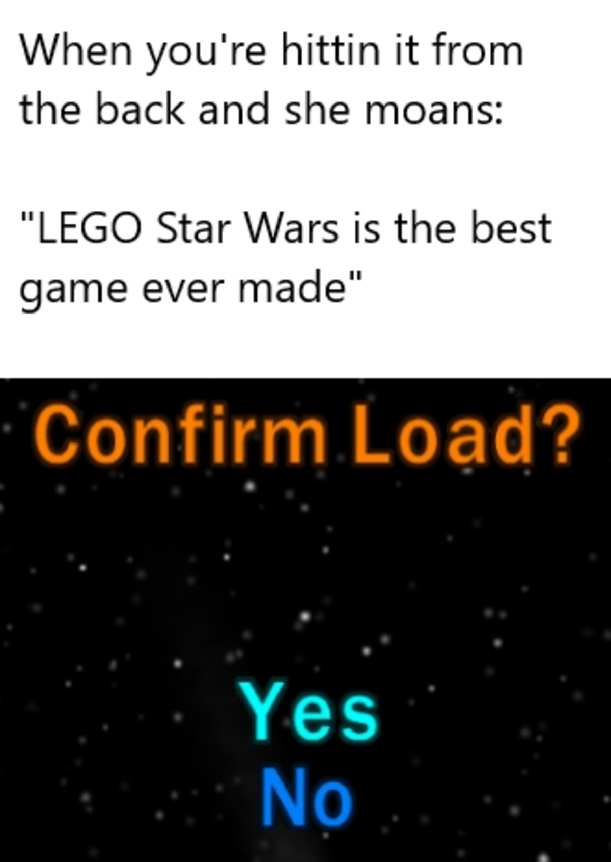 load confirmed