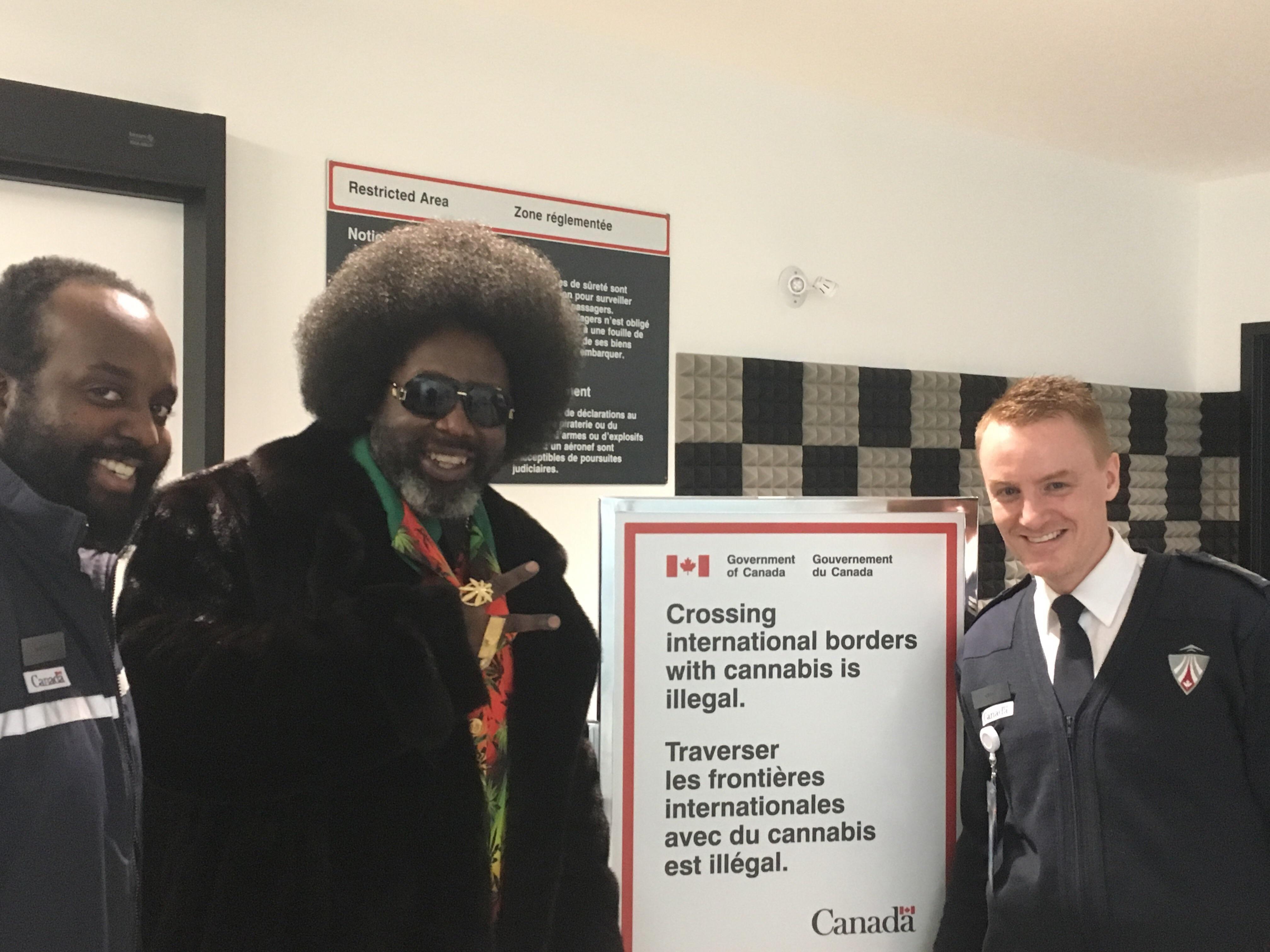 Met Afroman at work today