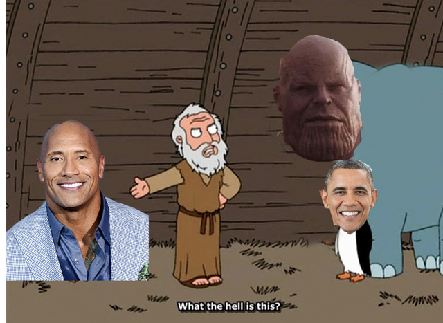 *implying that thanos had sex with obama