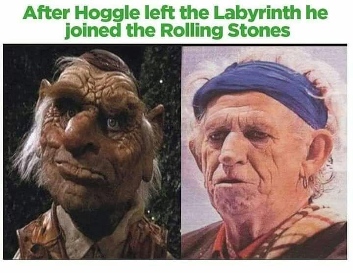 Hoggle aged so gracefully...