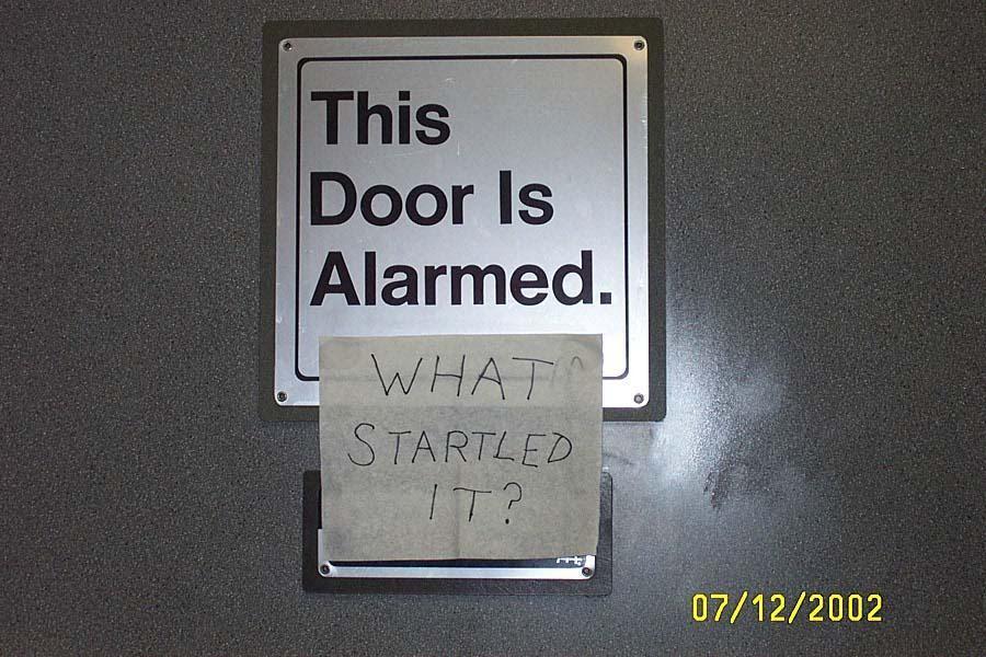 I like my doors shaken, not stirred
