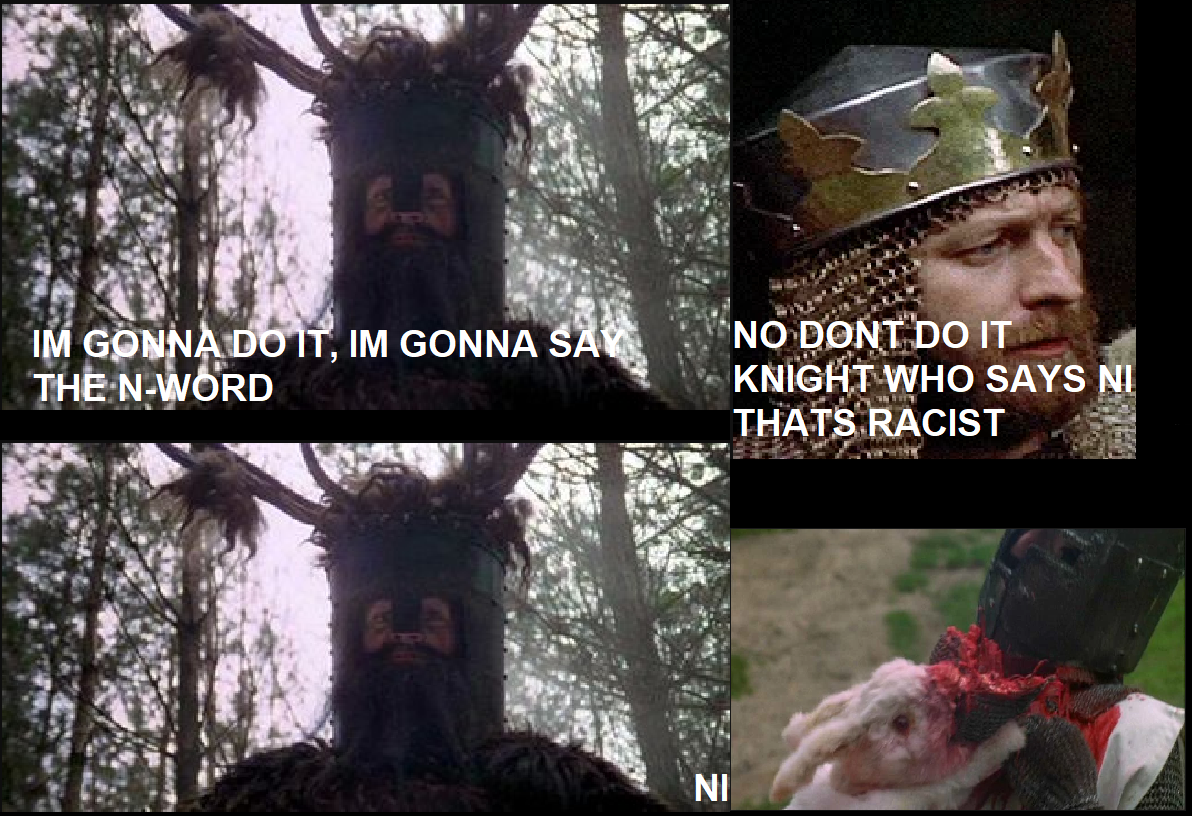 Knight that said Ni