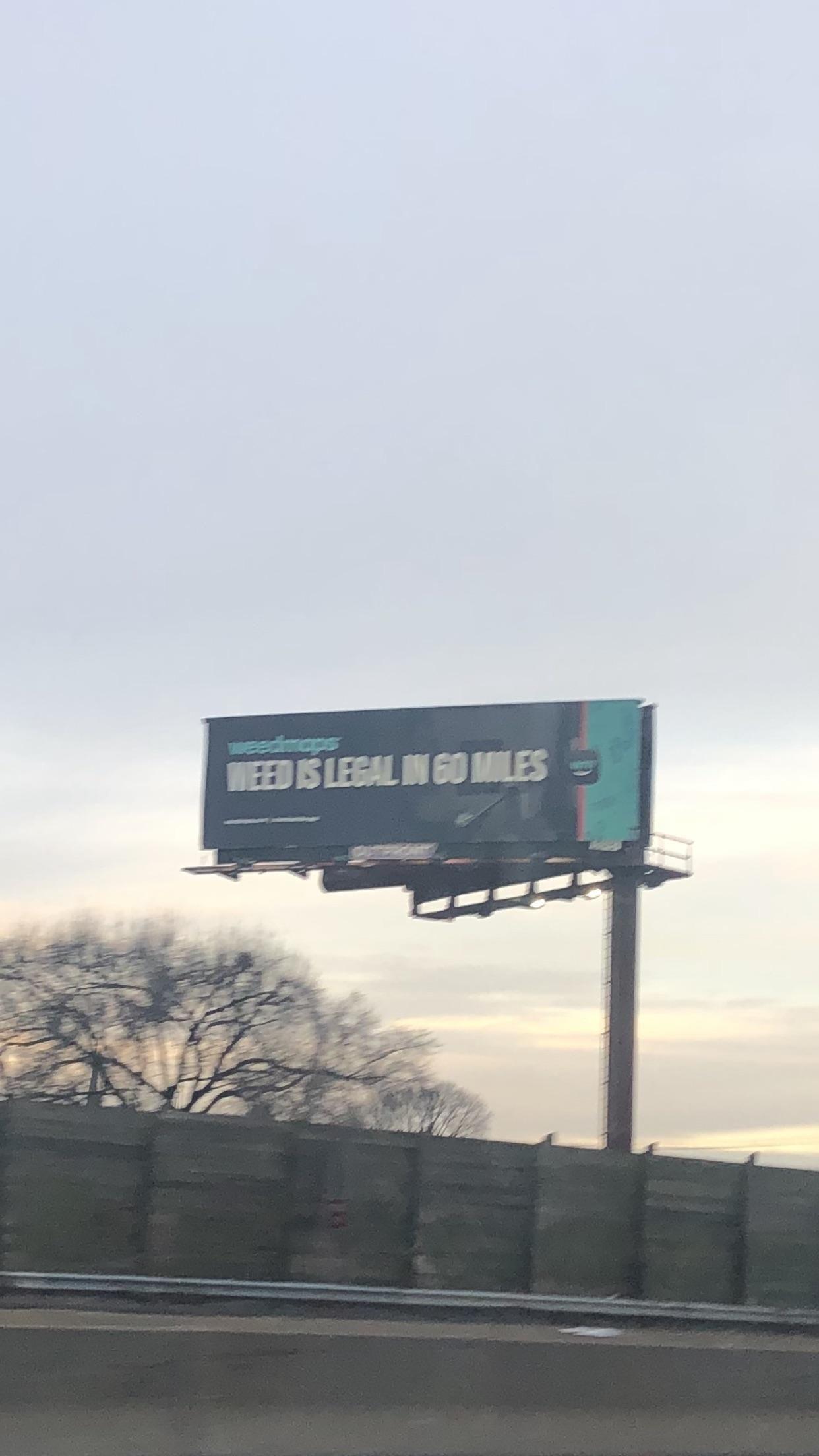 Amazing billboard seen in Connecticut