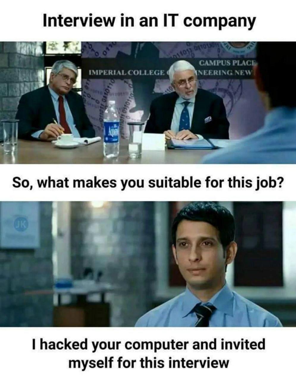 IT Job Interview