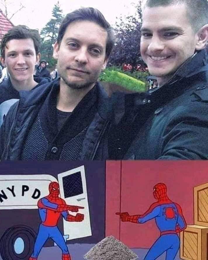 When Spiderman meet Spiderman meet the other Spiderman