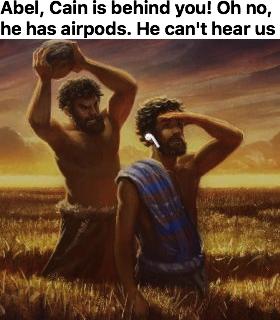Those damn airpods