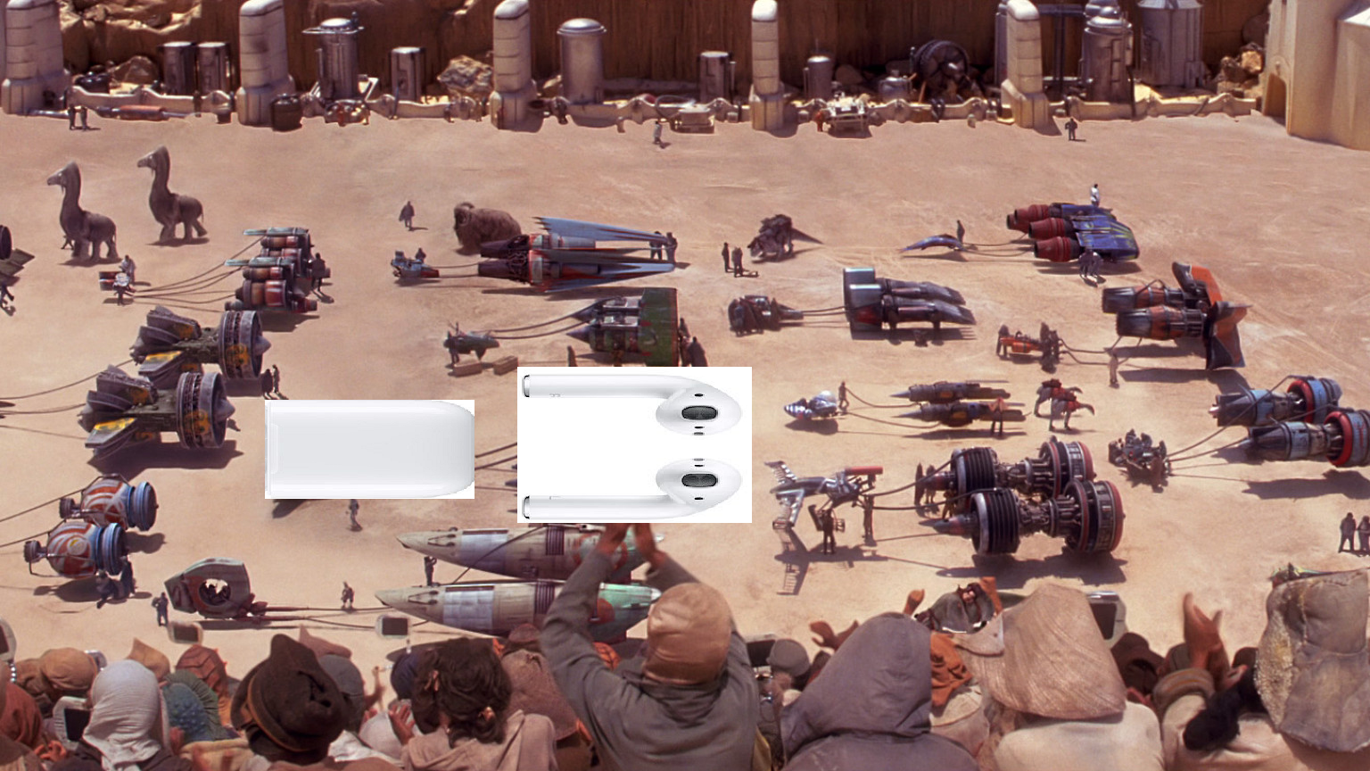 Now this is apple podracing
