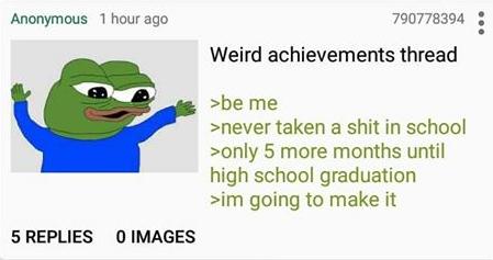 Plot twist: Anon is homeschooled (will delete if repost)