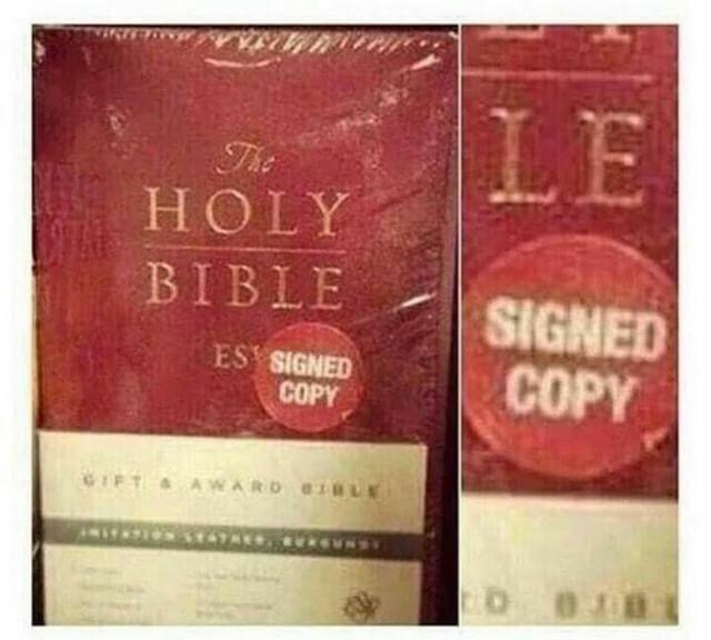 We've found god