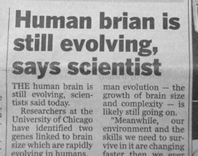 Good for you brian