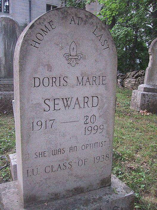 So close, Doris. So close.