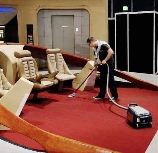 Join Starfleet they said. Imagine the worlds you'll see, the adventures you'll have, they said.