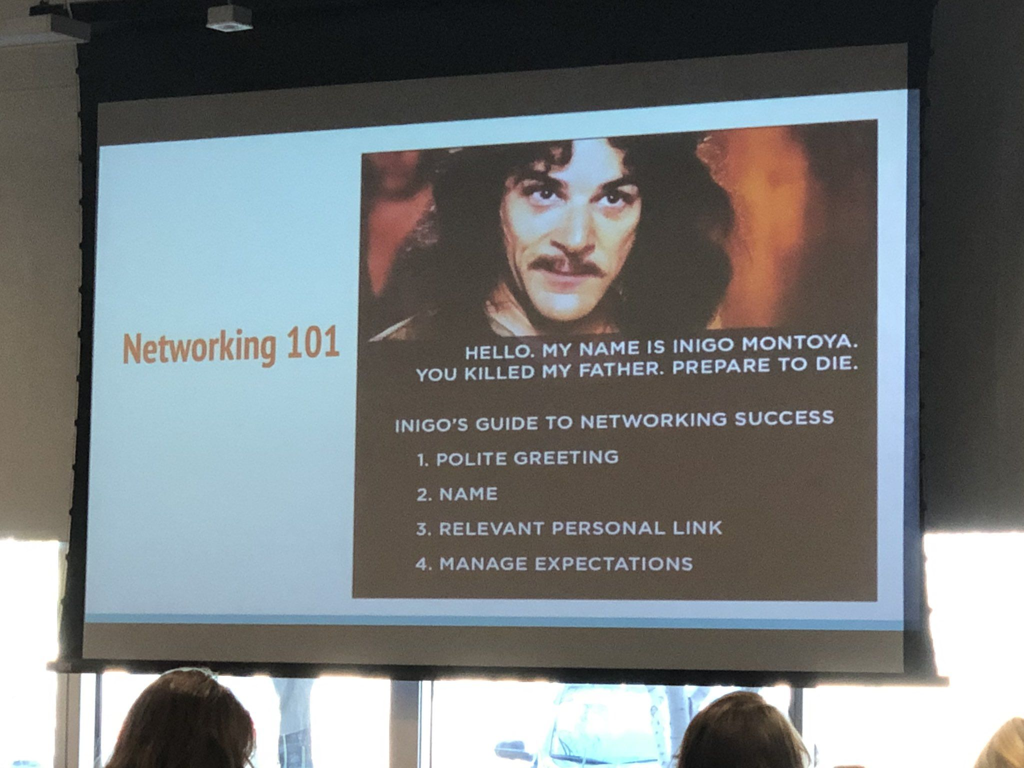 Good Networking Advice