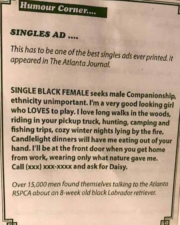 plot twist for single males