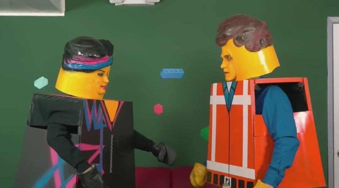 When you download the wrong lego movie