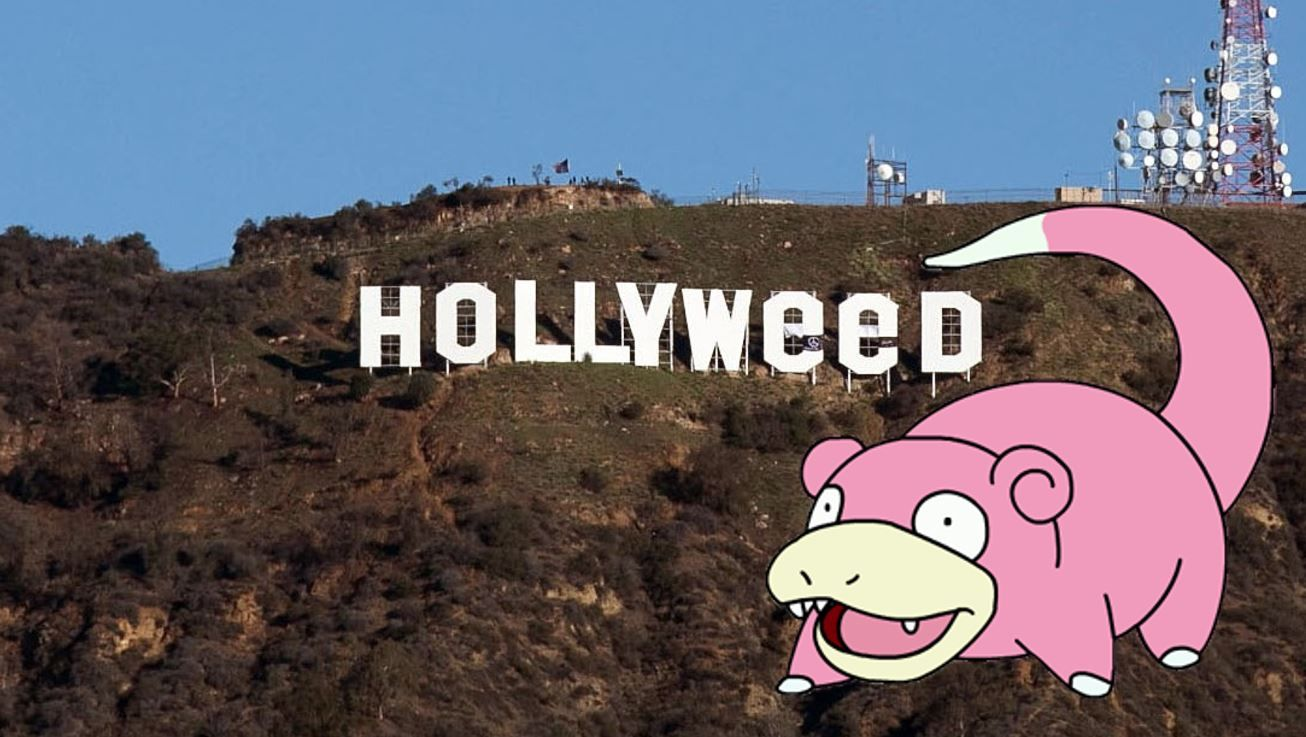 Did you all see what they did to the hollywood sign???