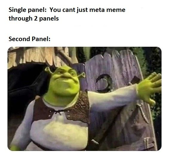this format has always been a panel within a panel, fite me